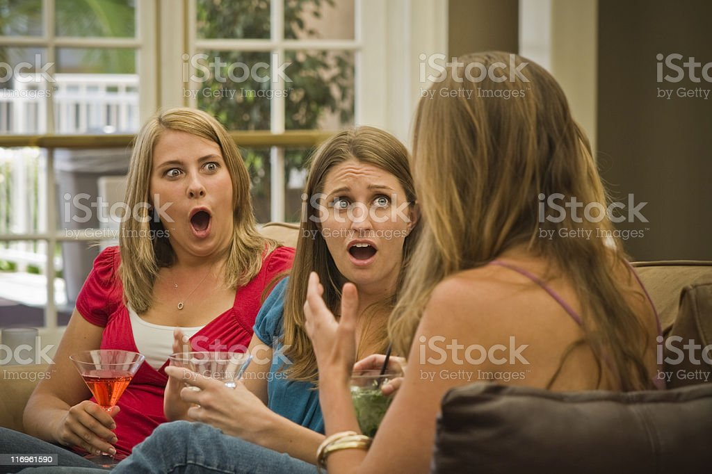 I Can't Believe It stock photo