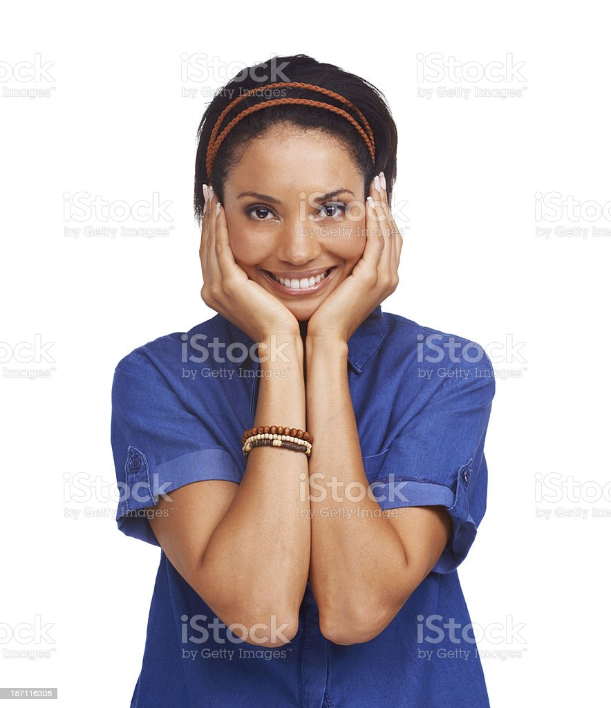 I can't believe it! royalty-free stock photo