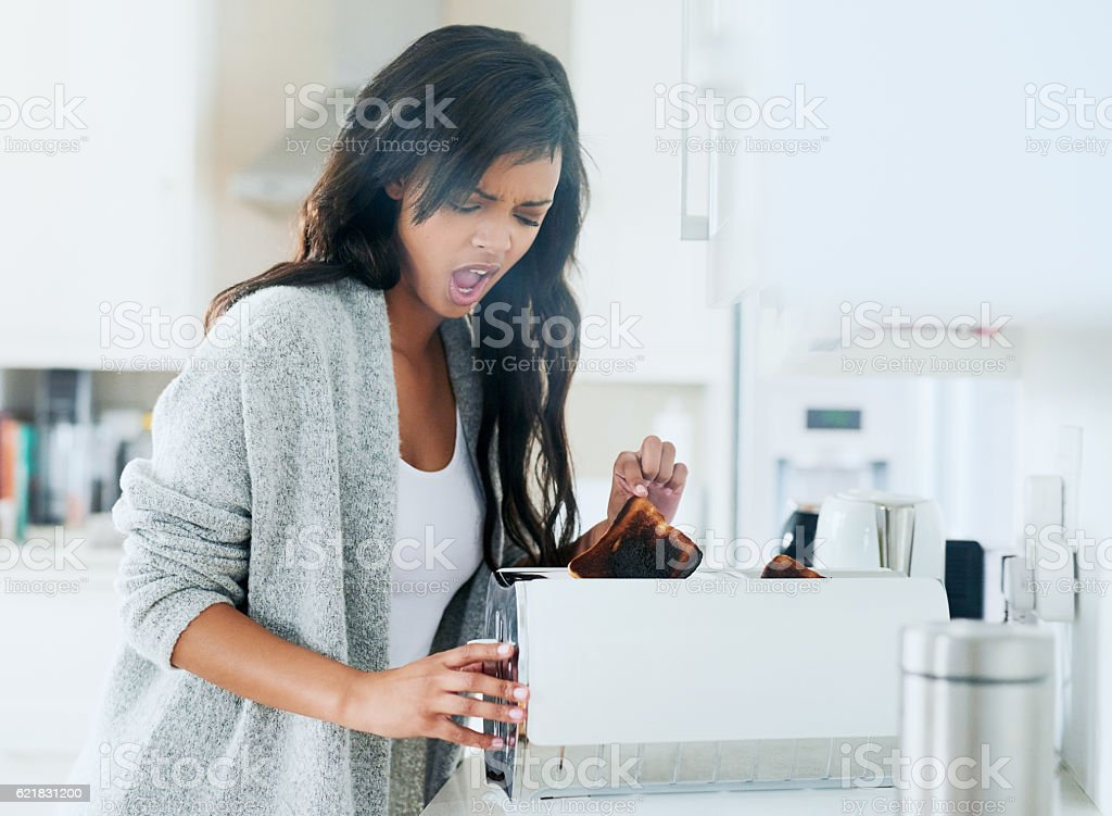 I can't eat this! stock photo