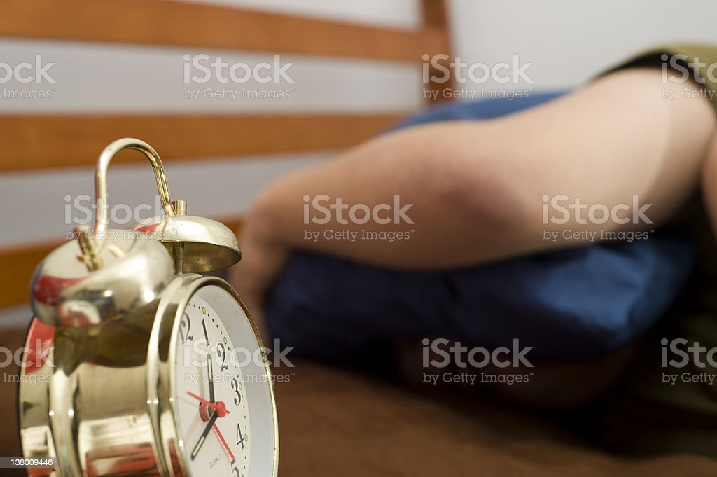Can't get up royalty-free stock photo