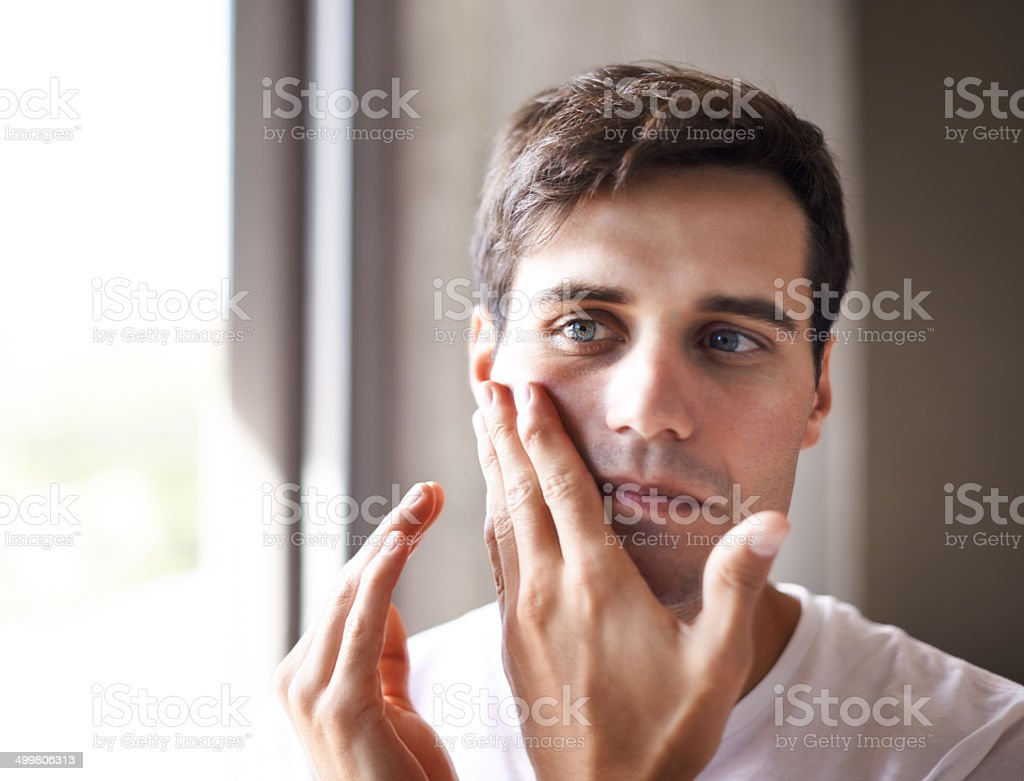 I can't go into work looking like this stock photo