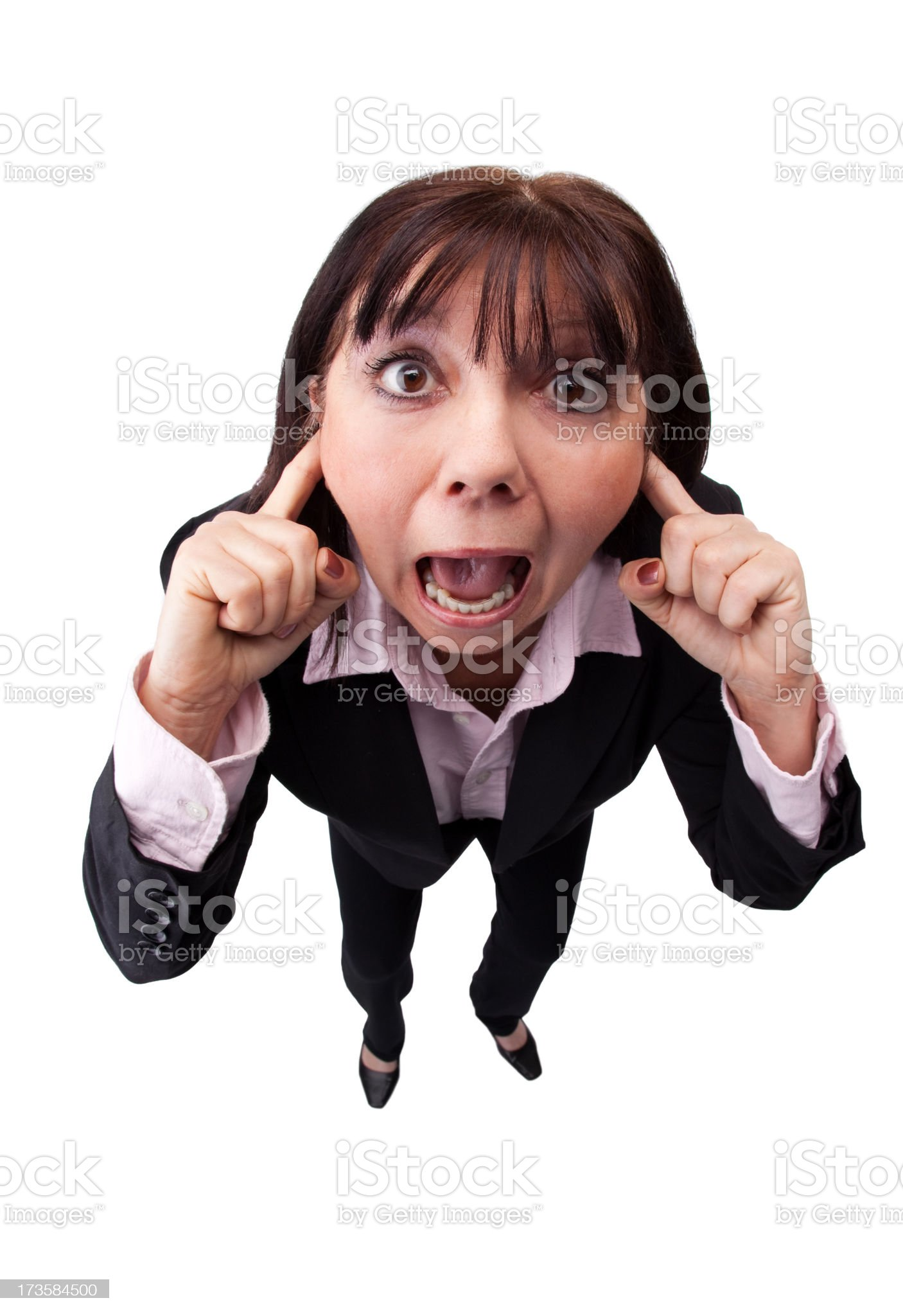 I Can't Hear You!! royalty-free stock photo