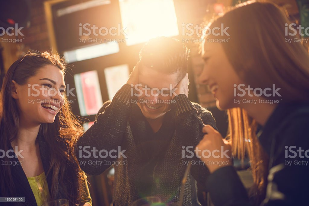 I can't listen to your gossips anymore! stock photo