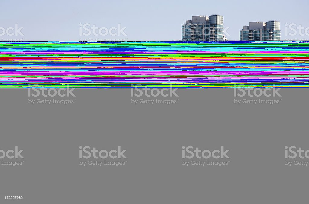 Can't see image - gray and feedback lines royalty-free stock photo
