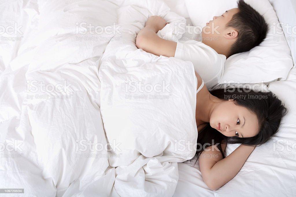 Cant Sleep royalty-free stock photo