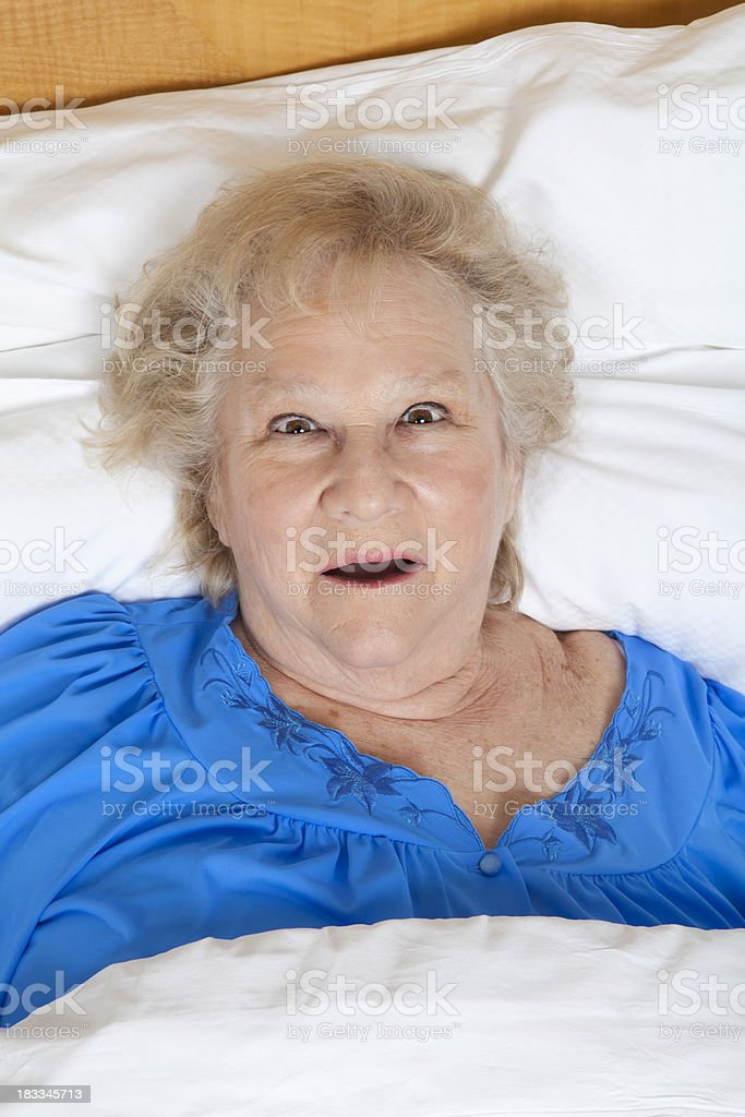 I can't sleep! royalty-free stock photo