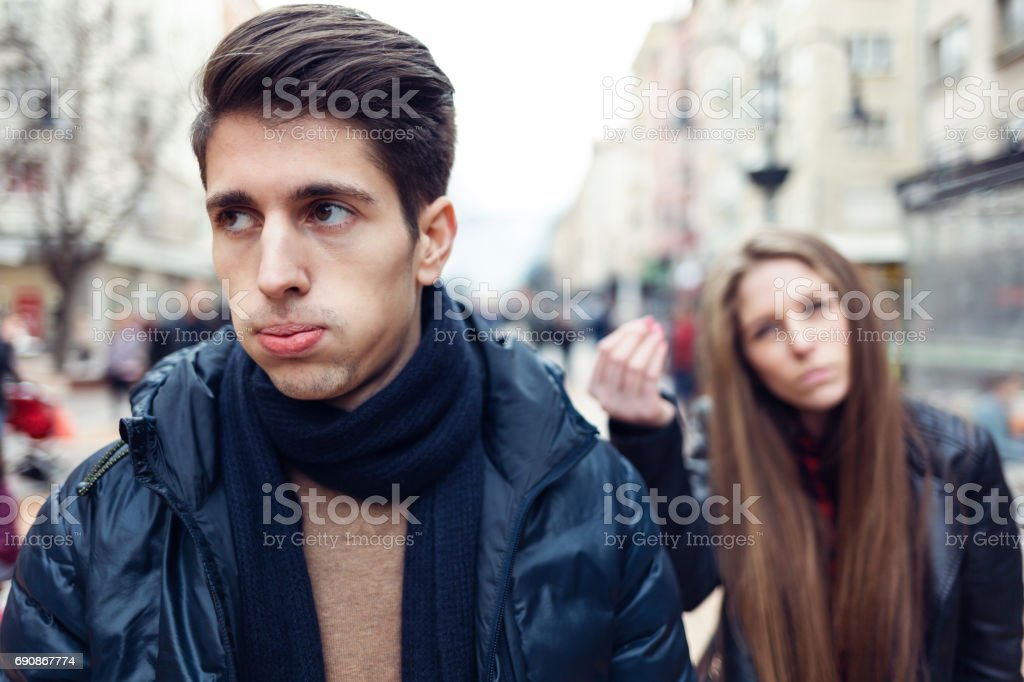 I can't stand that stock photo