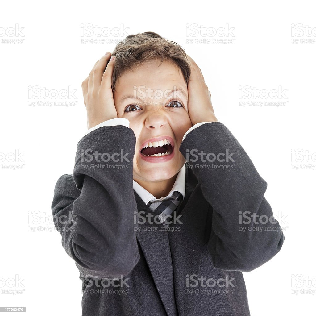 I can't stand the pressure royalty-free stock photo