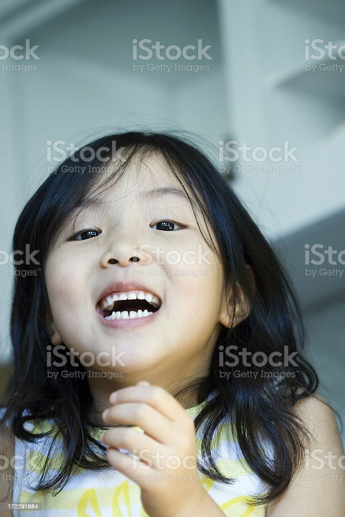 Can't Stop Laughing royalty-free stock photo