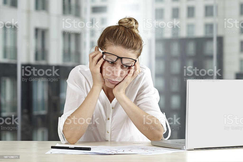 I can't think anymore stock photo