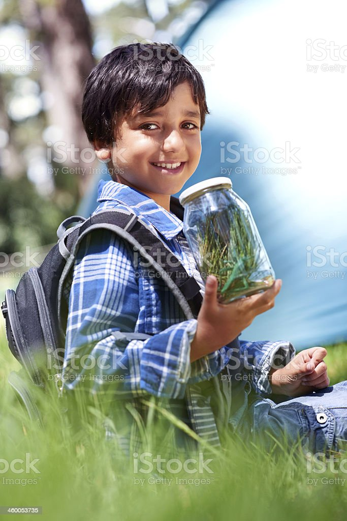 I can't wait for show-and-tell! stock photo