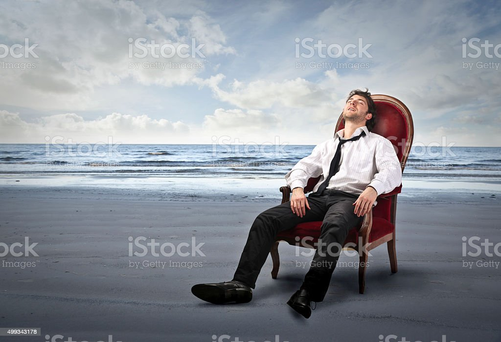 Can't wait for vacation stock photo