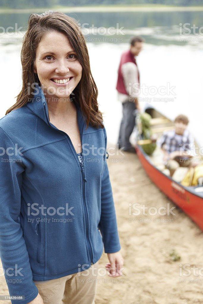 Can't wait to get out on that water! royalty-free stock photo