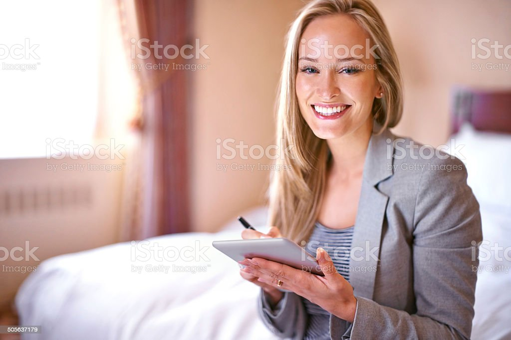 Can't wait to get this day started royalty-free stock photo