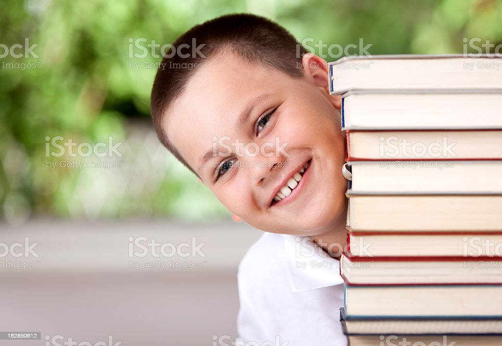 Can't wait to start reading royalty-free stock photo