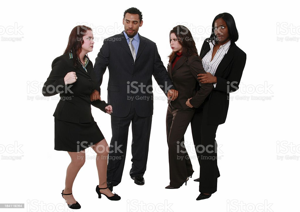 Can't We All Just Get Along? royalty-free stock photo