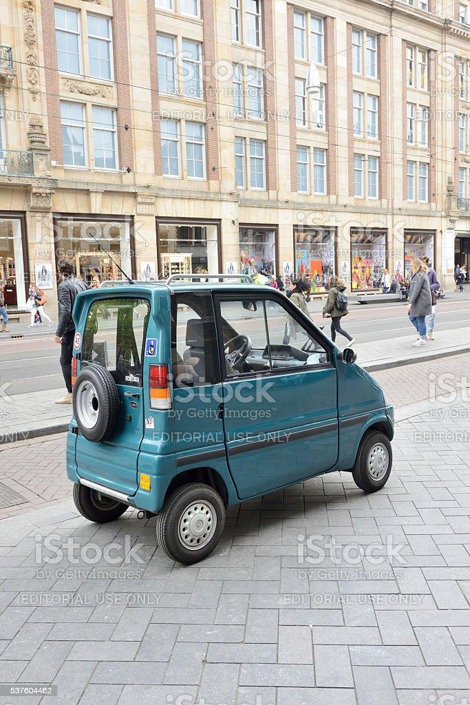 Canta Car Parking On Sidewalk In Amsterdam Stock Photo 537604462