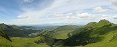 Cantal mountains in Auvergne, France