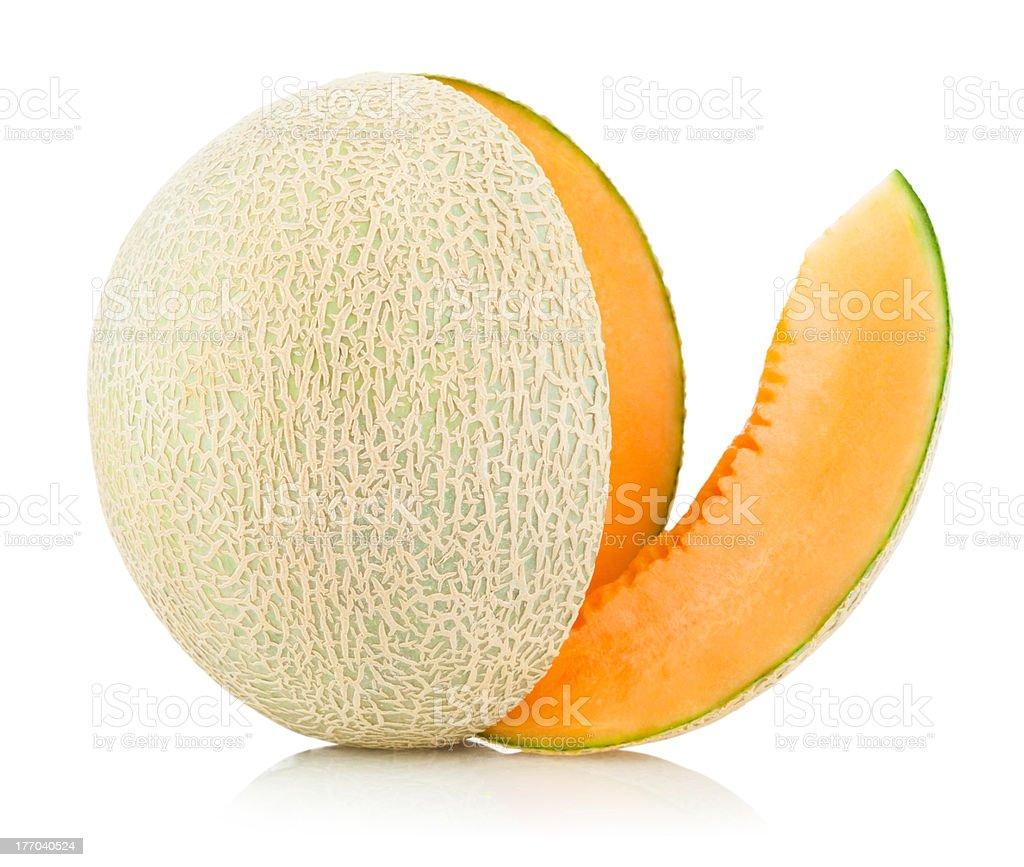 cantaloupe melon royalty-free stock photo