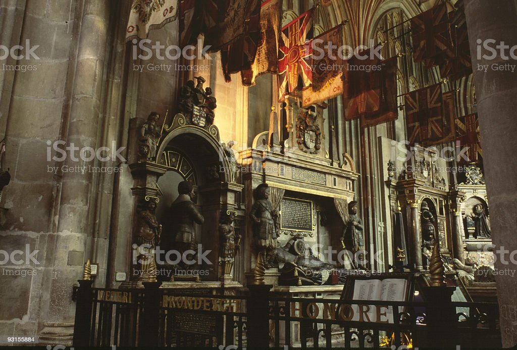 Cantebury Cathedral 3 royalty-free stock photo