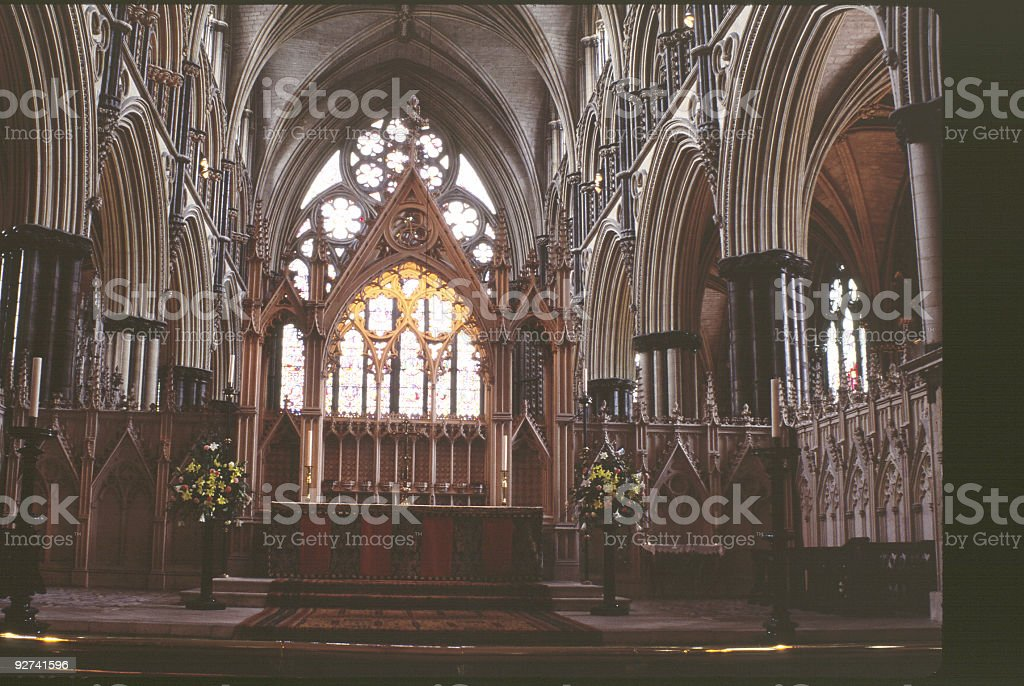 Cantebury Cathedral royalty-free stock photo