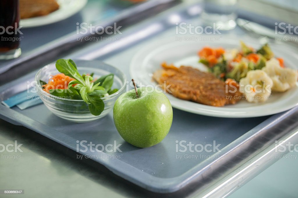 Kantine stock photo