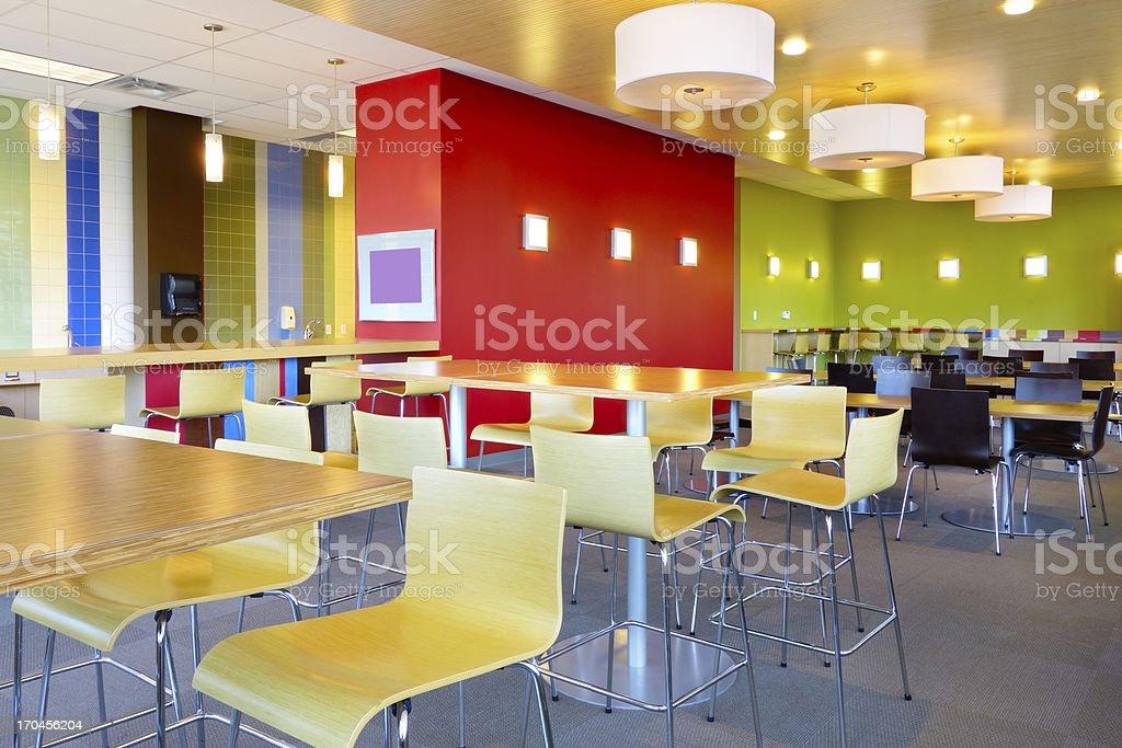 Canteen Restaurant stock photo