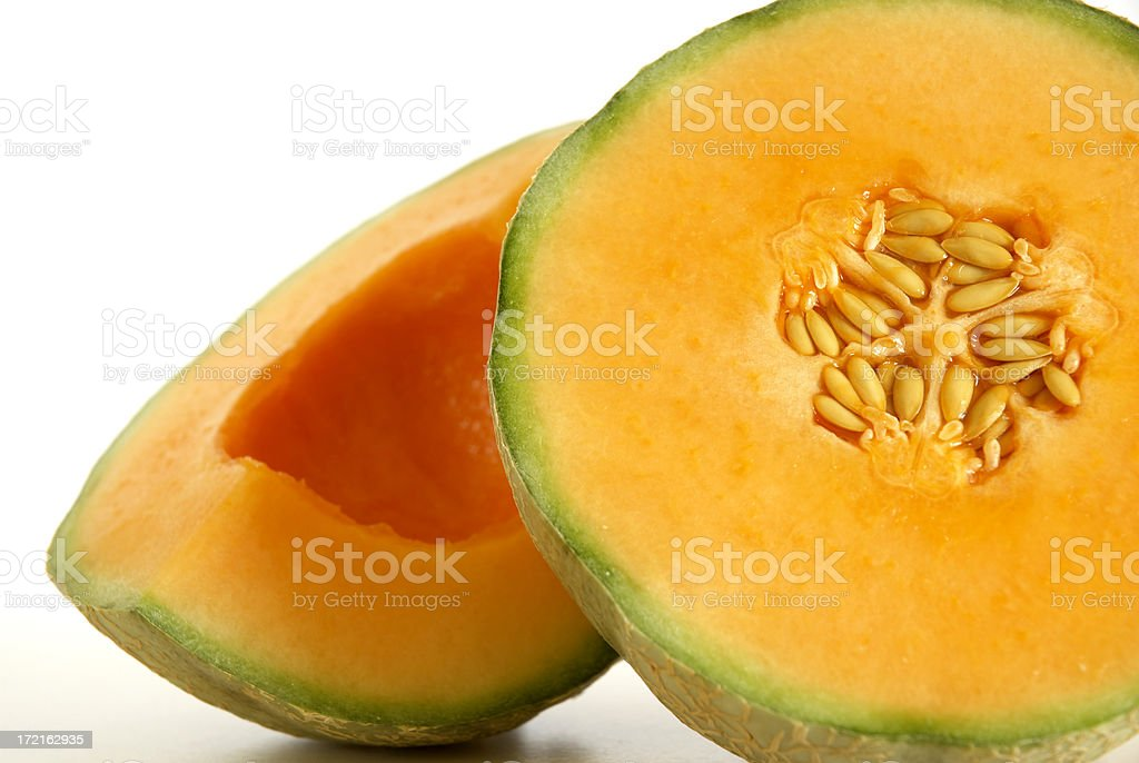 Canteloupe Melon royalty-free stock photo