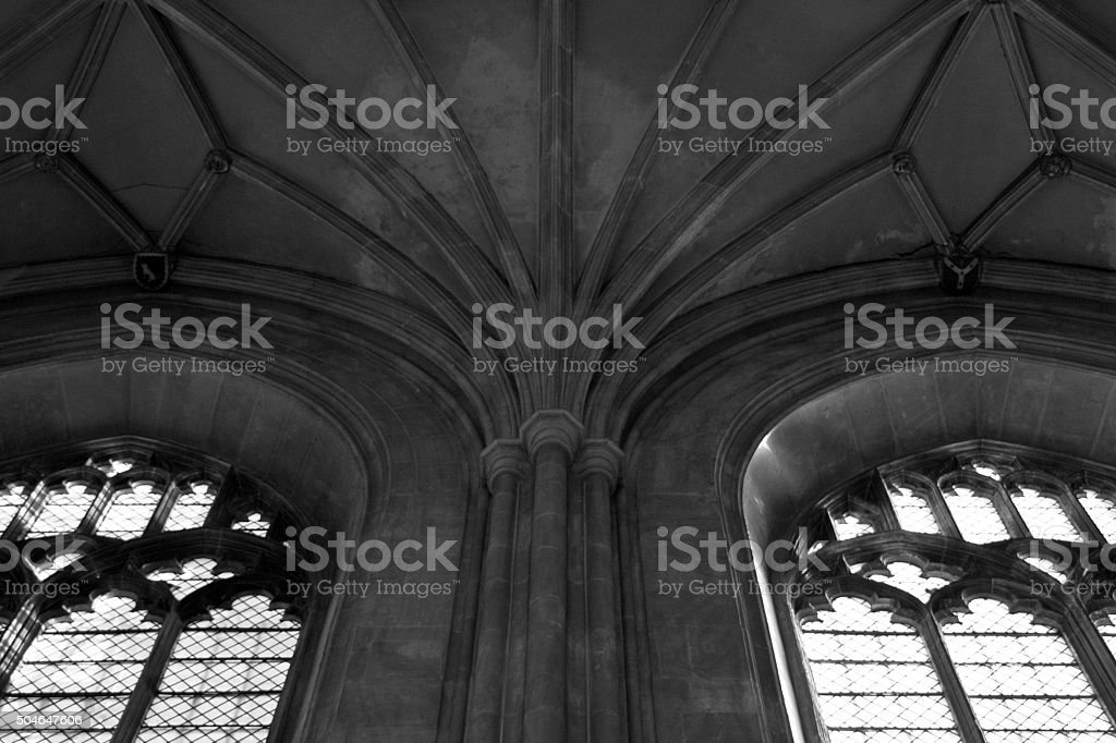 Canterbury Cathedral details stock photo