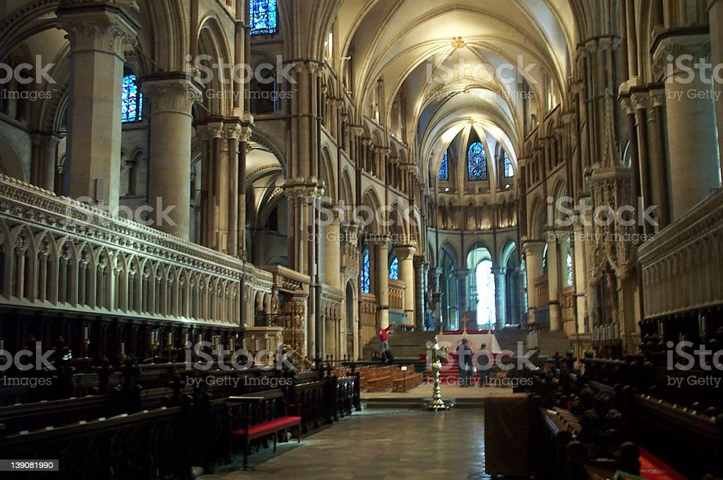 Canterbury Cathedral royalty-free stock photo