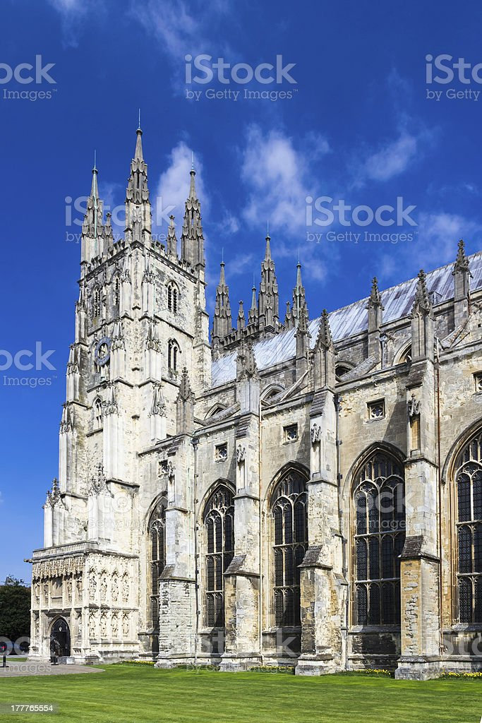 Canterbury Cathedral photo libre de droits