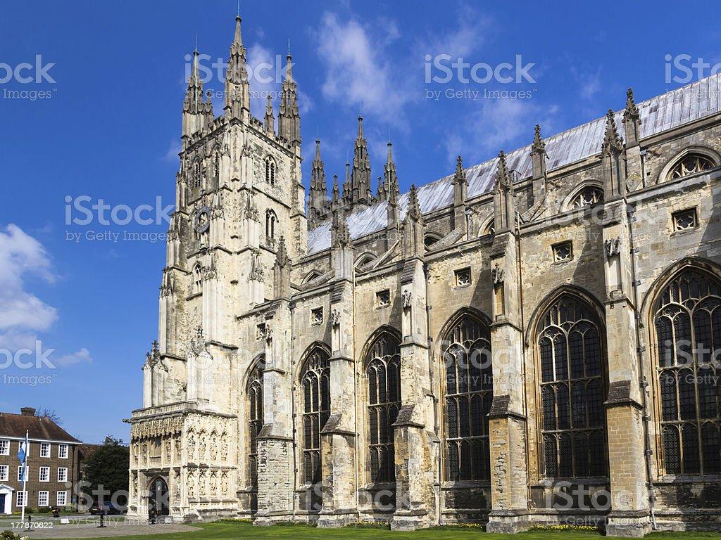Canterbury Cathedral photo libre de droits