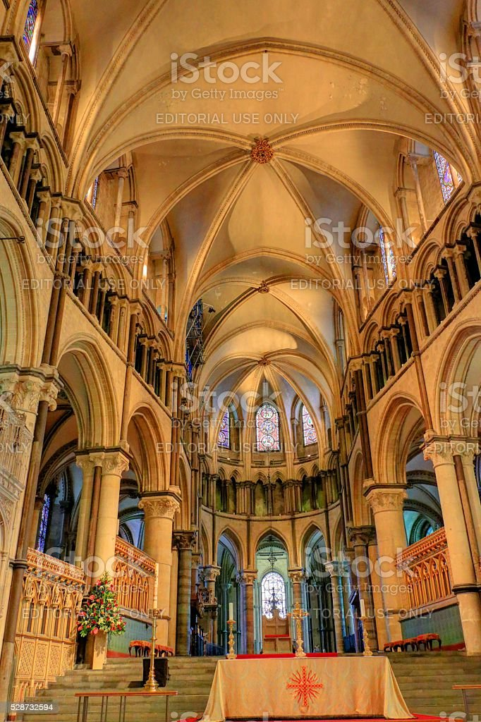 Canterbury cathedral. stock photo
