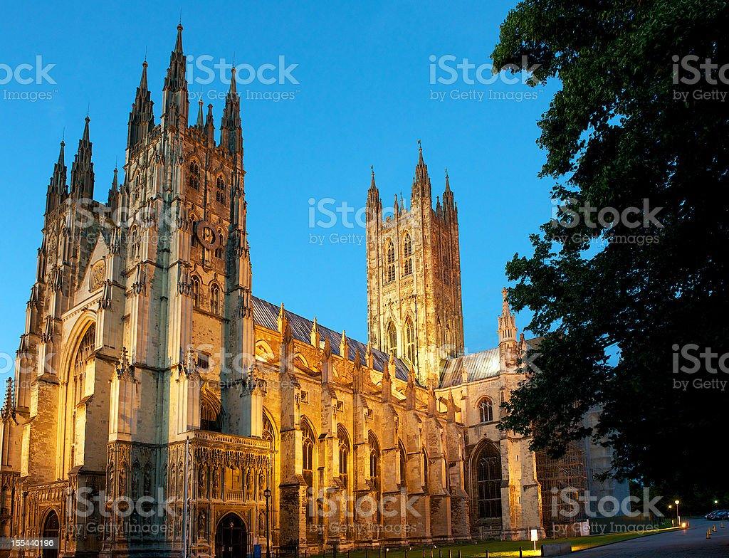 Canterbury Cathedral, UK stock photo