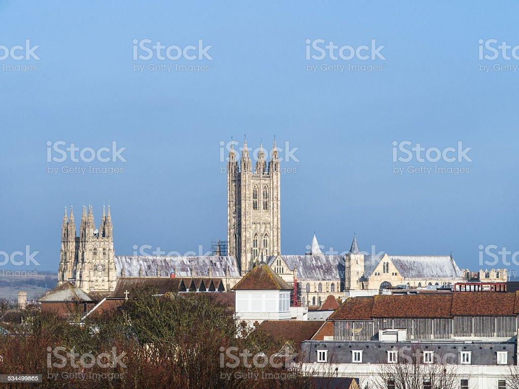Canterbury Catherdral stock photo