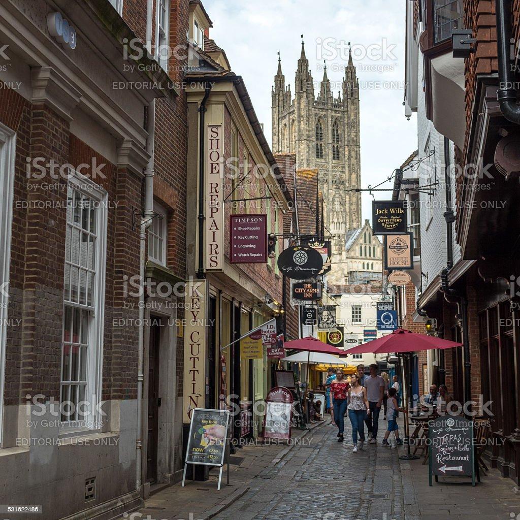 Canterbury, Kent, England stock photo