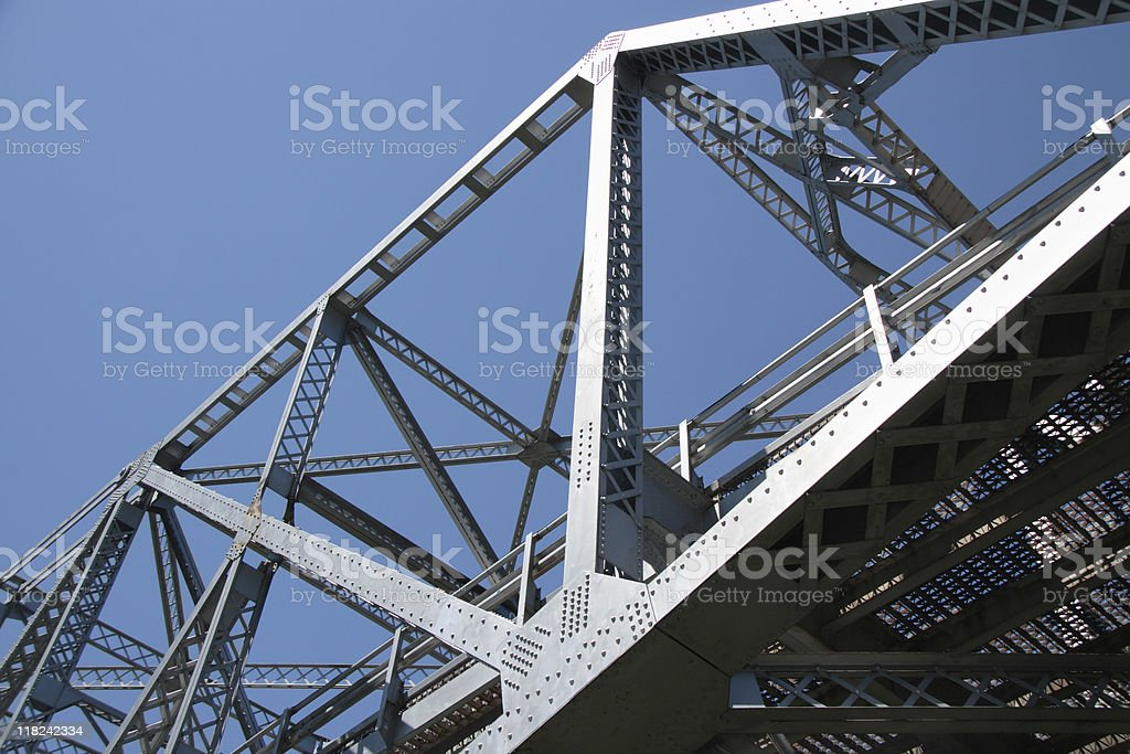Cantilever Bridge stock photo