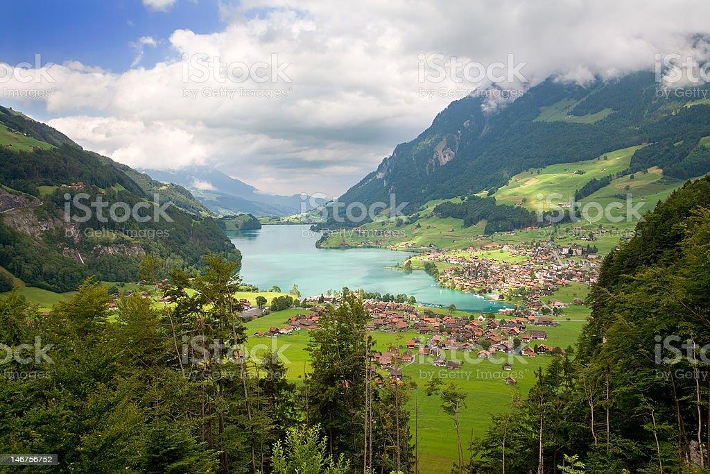 Canton of Fribourg, Switzerland stock photo