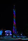 Canton Tower illumination