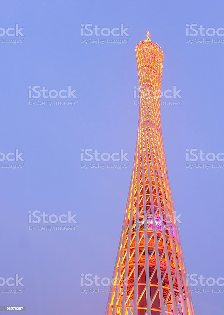 canton tower in china stock photo