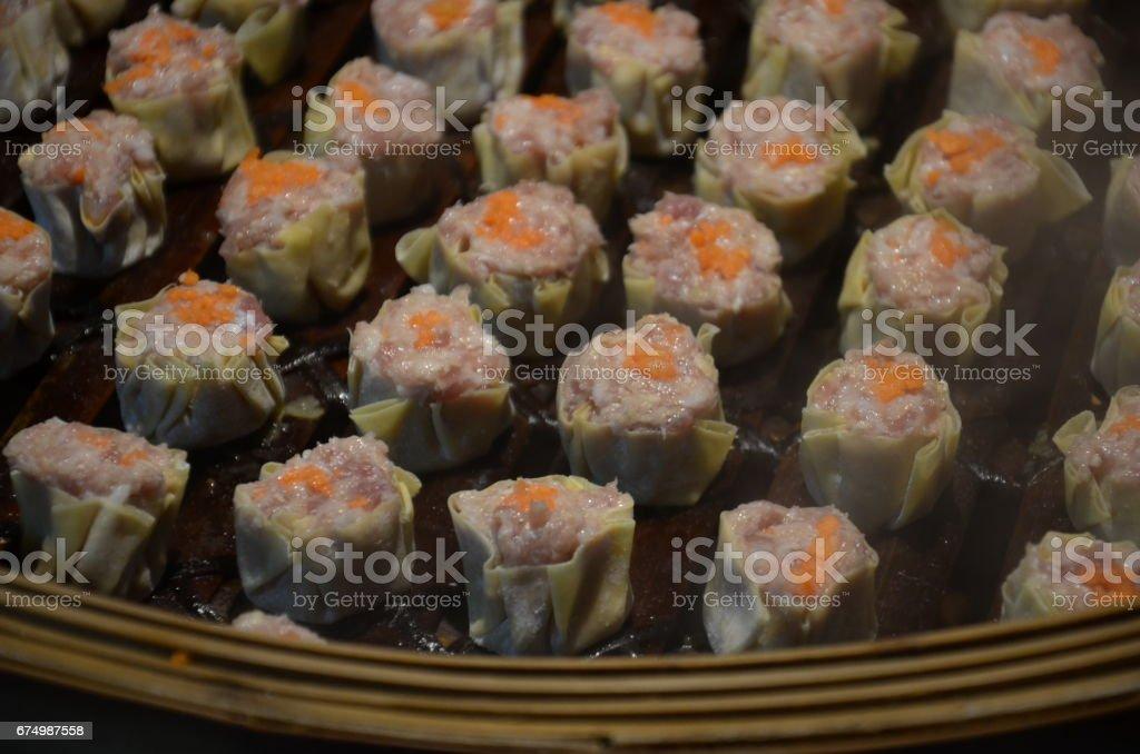 Cantonese Shumai stock photo