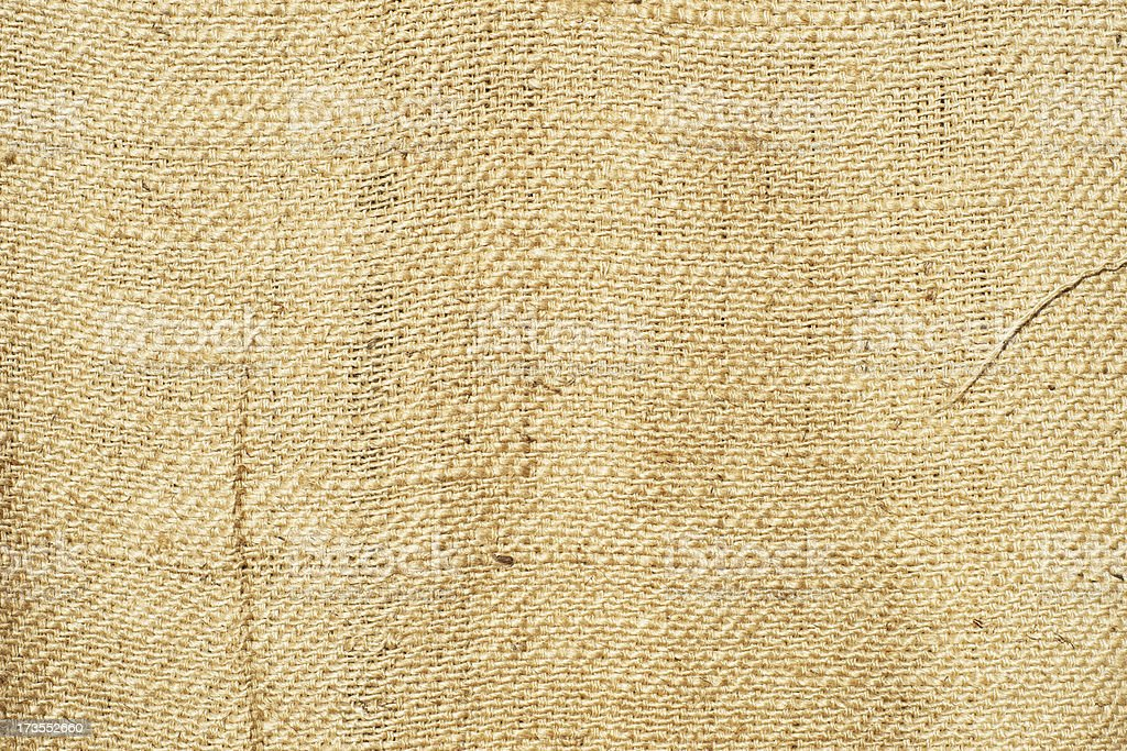 Canvas fabric background (XXL) royalty-free stock photo