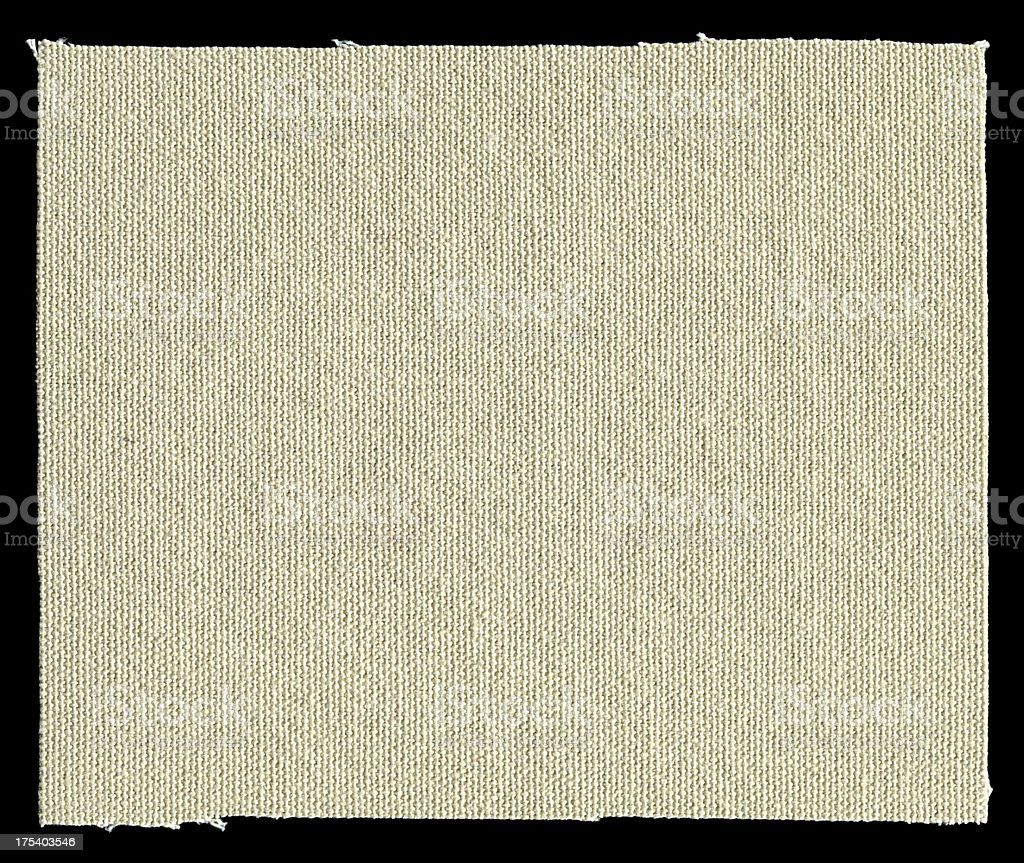 Canvas patch textured background isolated royalty-free stock photo