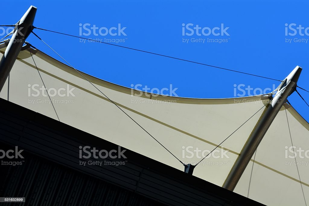 Canvas Shelter stock photo