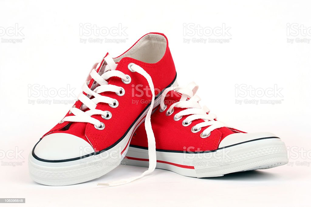 Canvas Shoes royalty-free stock photo