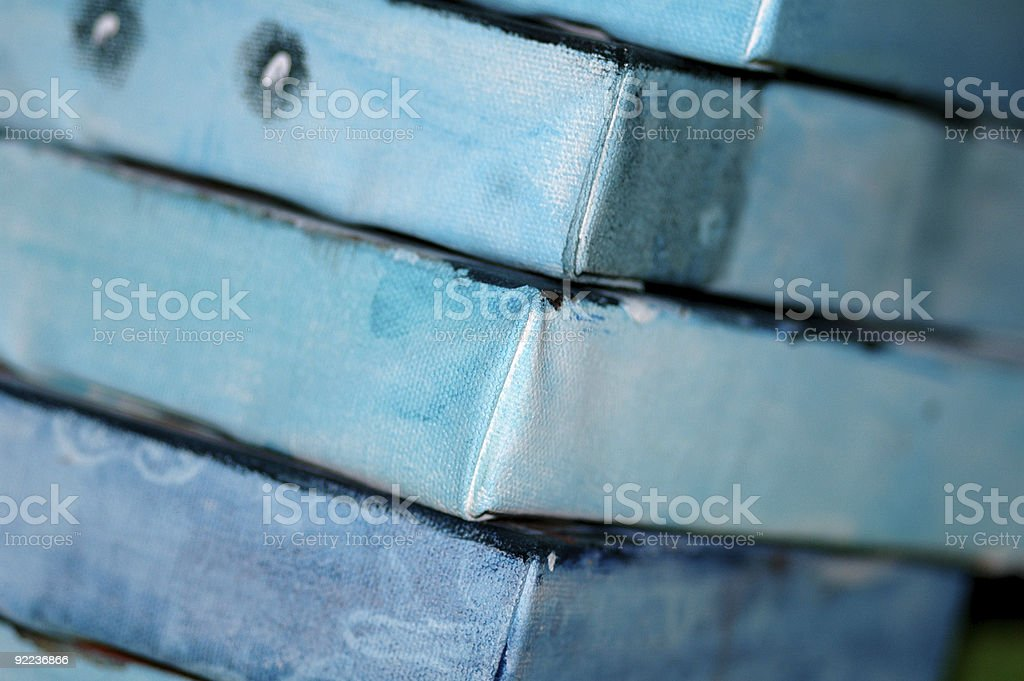 Canvas Stack stock photo