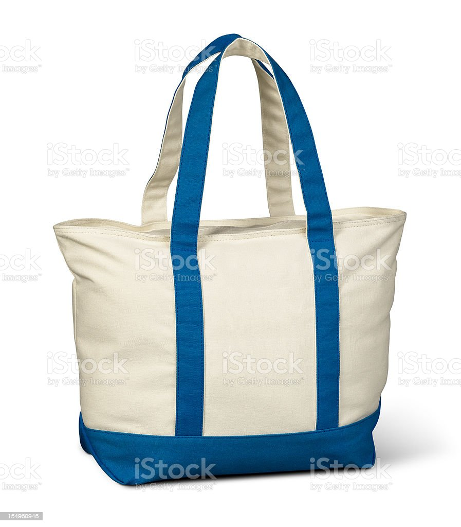 Canvas Tote Bag stock photo