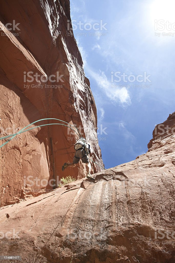 canyon country adventure stock photo