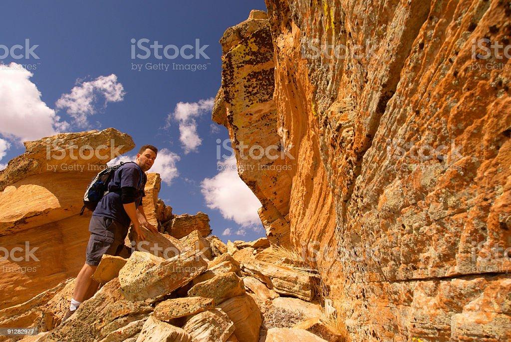 canyon country explorer stock photo