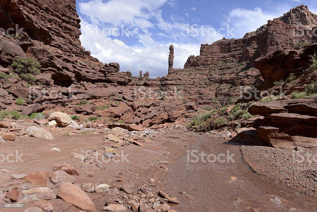 Canyon Creek - Horizontal royalty-free stock photo